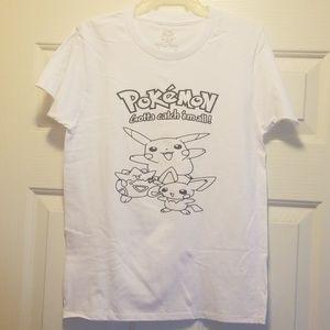 Handcrafted pokemon shirt